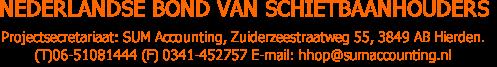 Nederlandse Bond van Schietbaanhouders